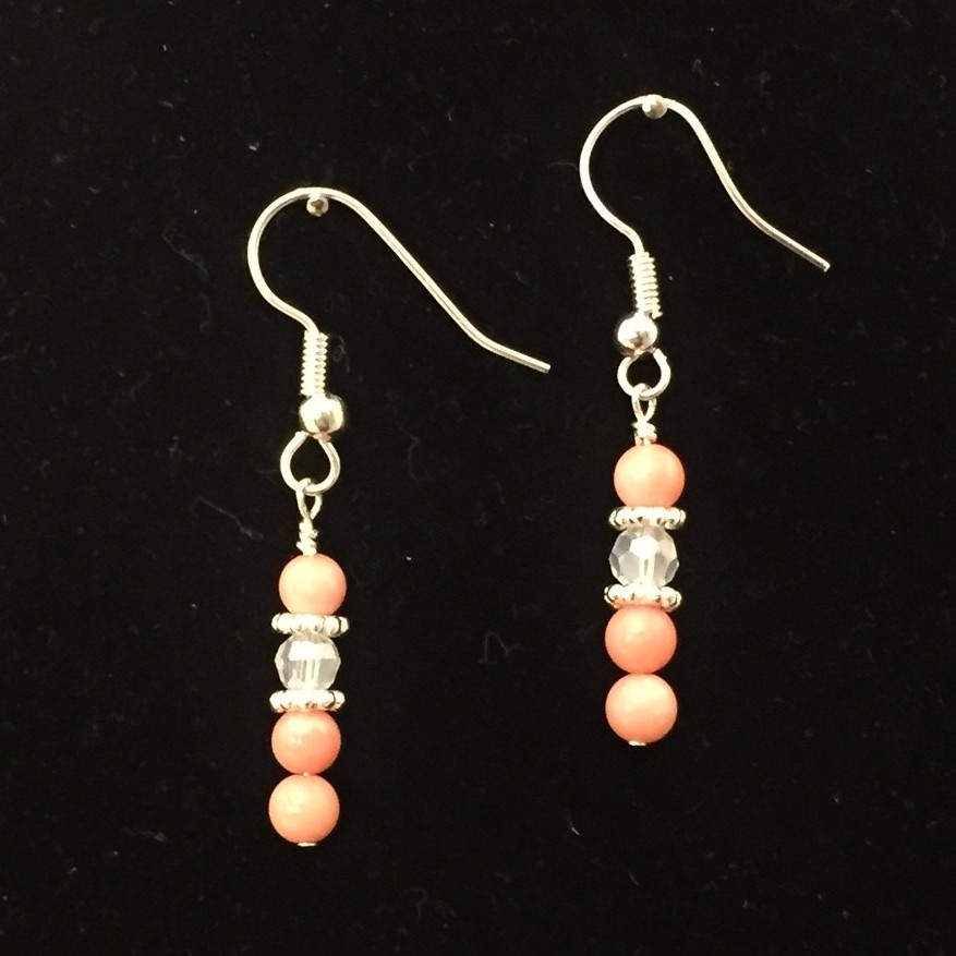 Coral Earrings Children