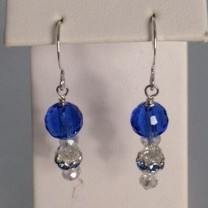 Crystal Pond Earrings - Children's & Teen's Collection
