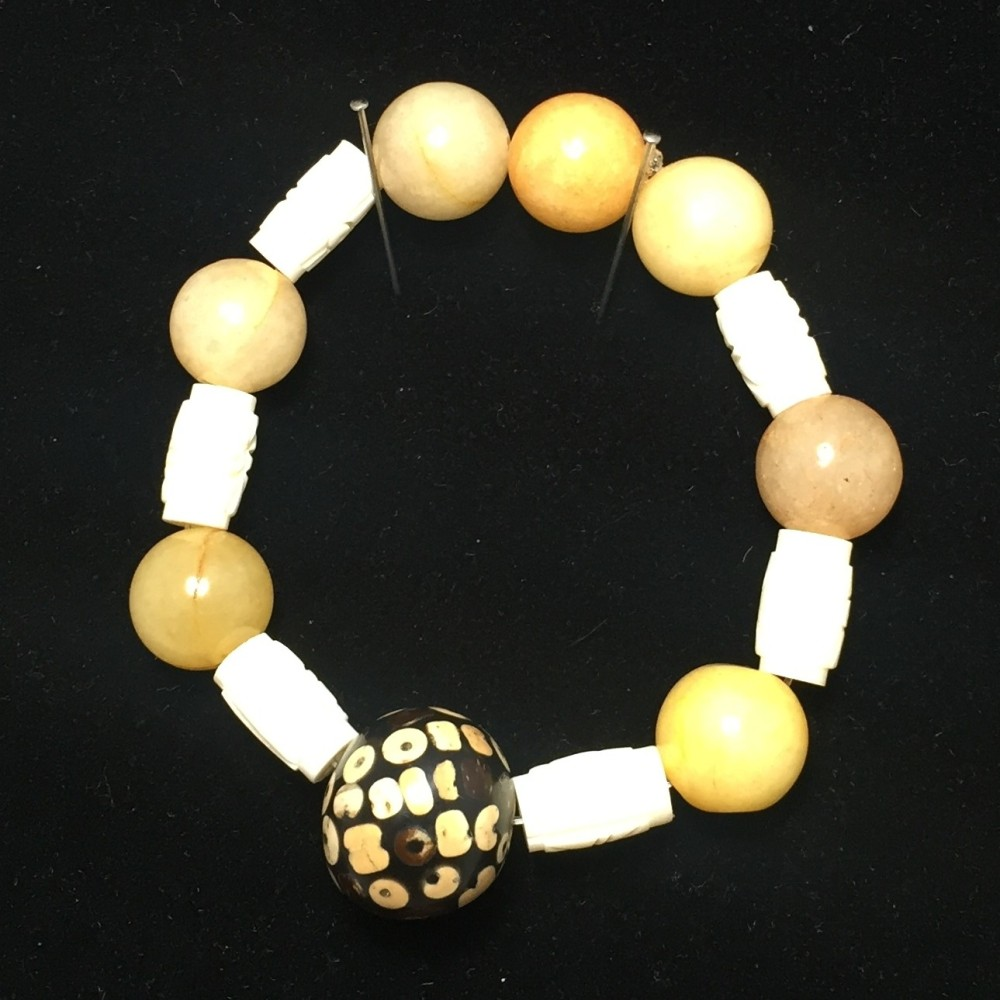 A bracelet made out