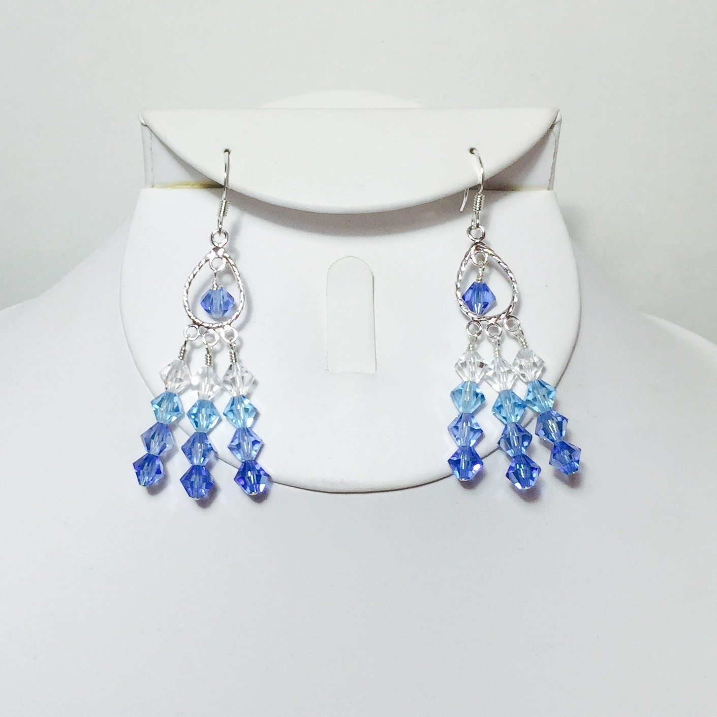 Crystals earrings