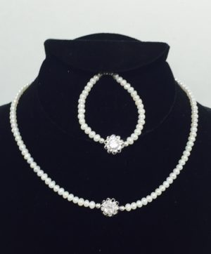 Royal Princess Necklace and Bracelet Set