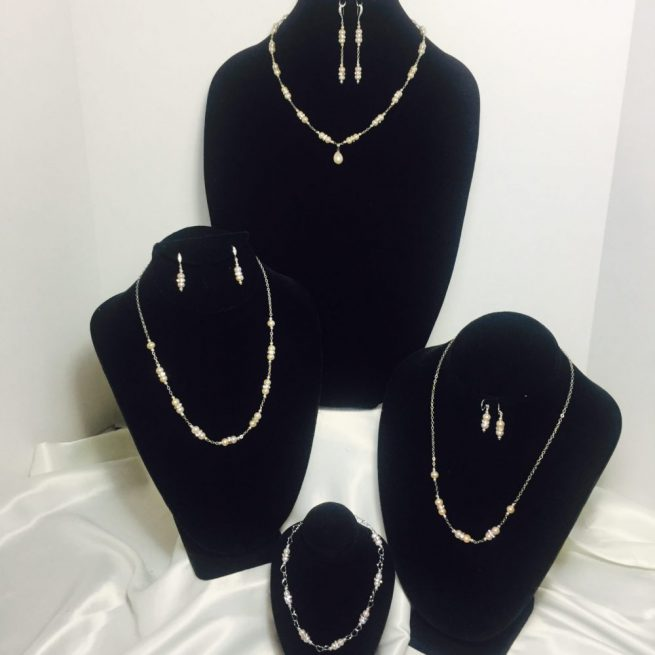 Pearl, Crystal and Sterling Silver Collection