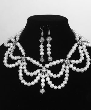 Royal Highness Necklace and Earring Set