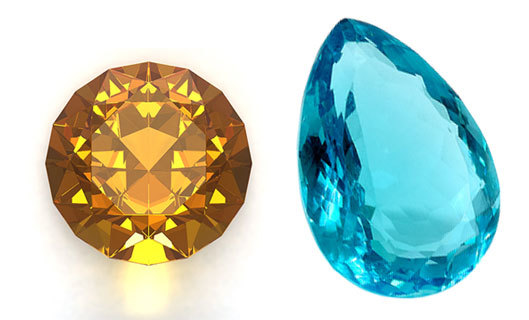 November Birthstones: Topaz, Citrine
