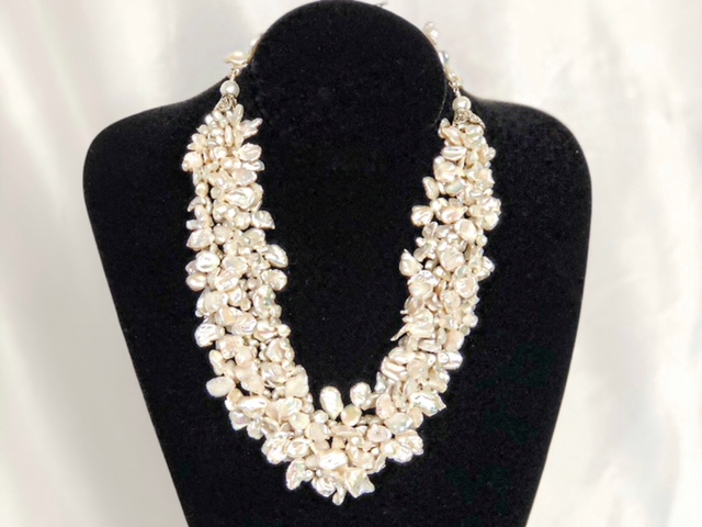 ca4ca181fee multi strand pearl necklace - Only Yours Jewelry