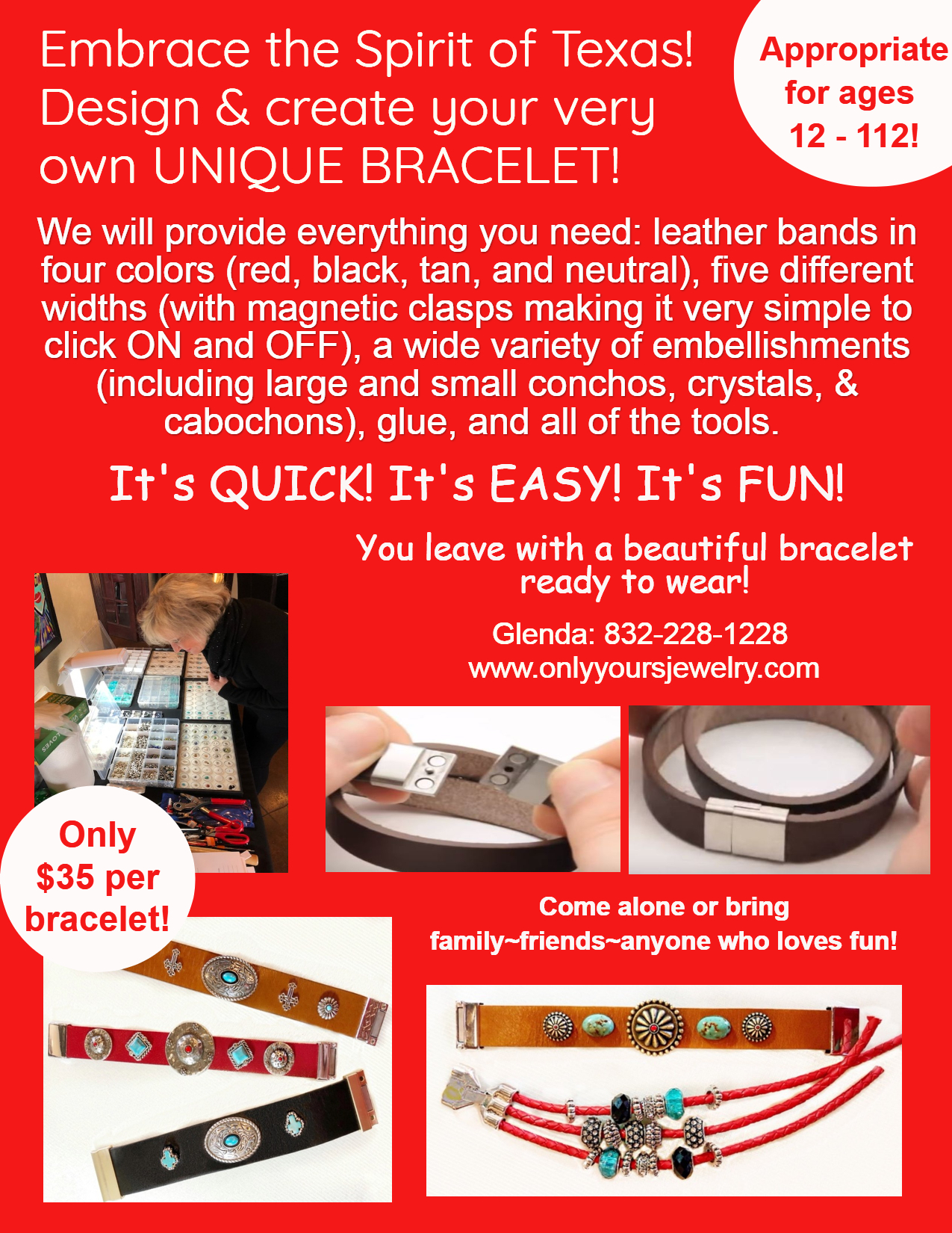 Bracelet Making Parties!